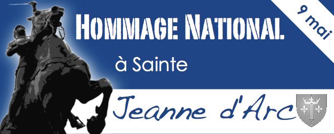 9 mai : hommage national à sainte Jeanne d'Arc